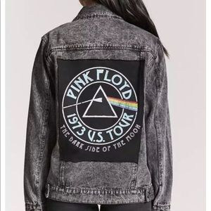 Forever 21 Pink Floyd denim jacket. Size Small
